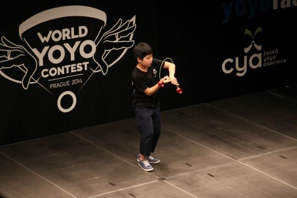 3A World Yo-Yo Champion Hajime Miura