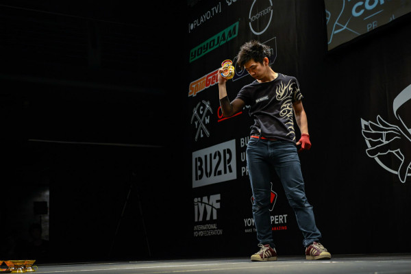 4A World Yo-Yo Champion Rei Iwakura