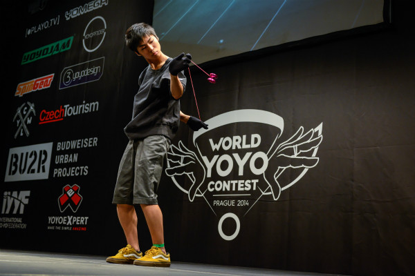 5A World Yo-Yo Champion Takeshi Matsuura
