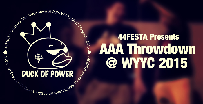 aaa-throwdown